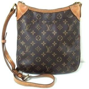 Auth Louis Vuitton Odeon Pm Crossbody #N2816V98O